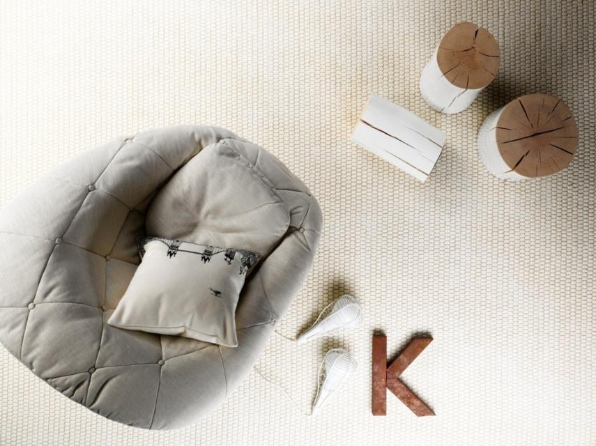 scandinavian style rug