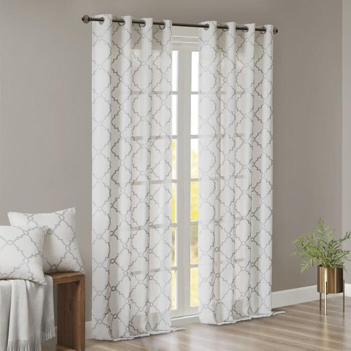 Semi opaque curtains