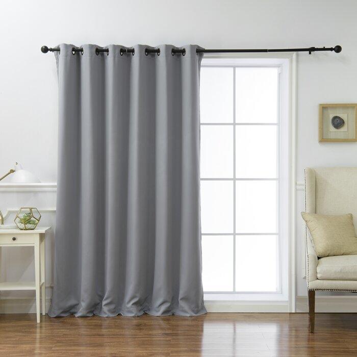 Single panel curtain type