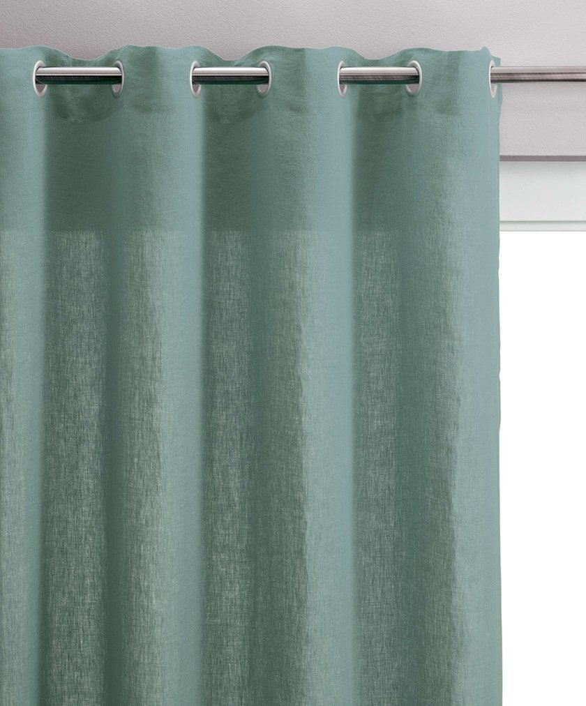 Solid color curtains