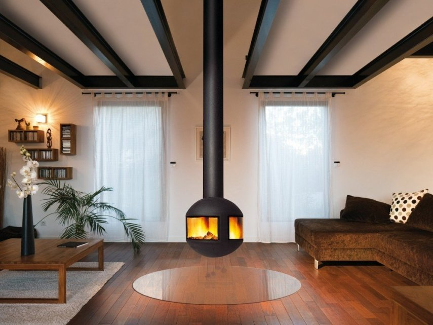 swivel fireplace type
