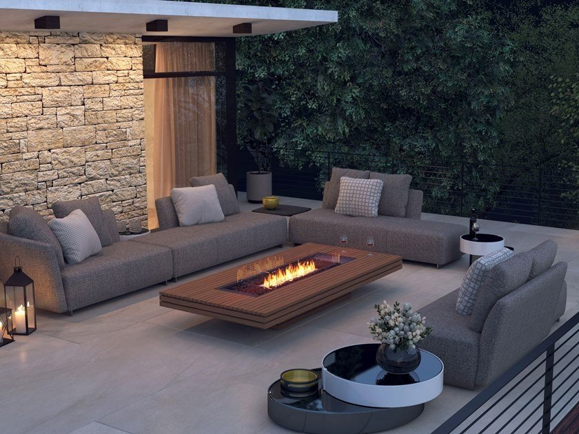 synthetic materials fireplace