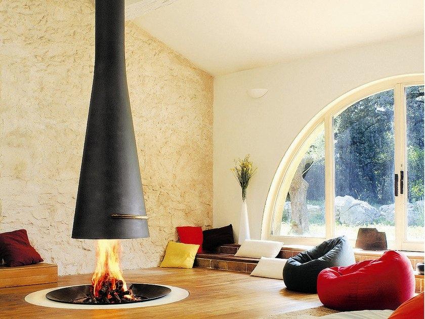 telescopic fireplace