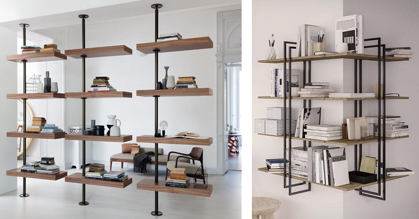 50 types of bookcases