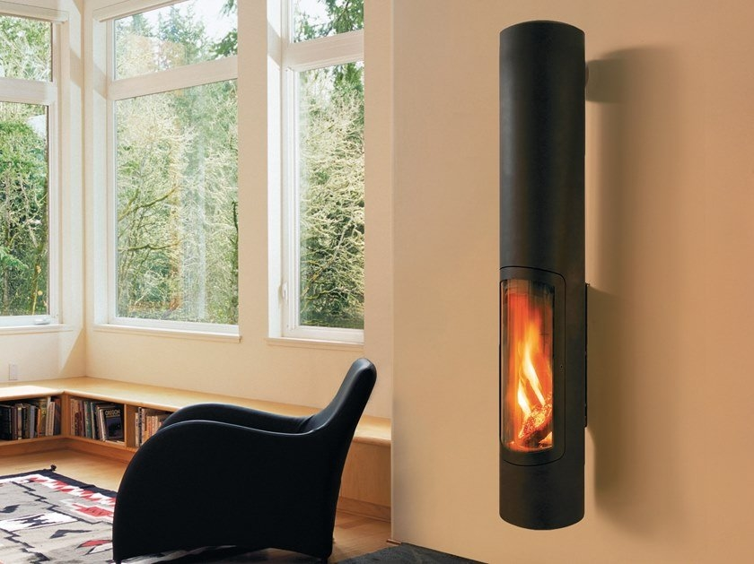 wall-mounted fireplace types
