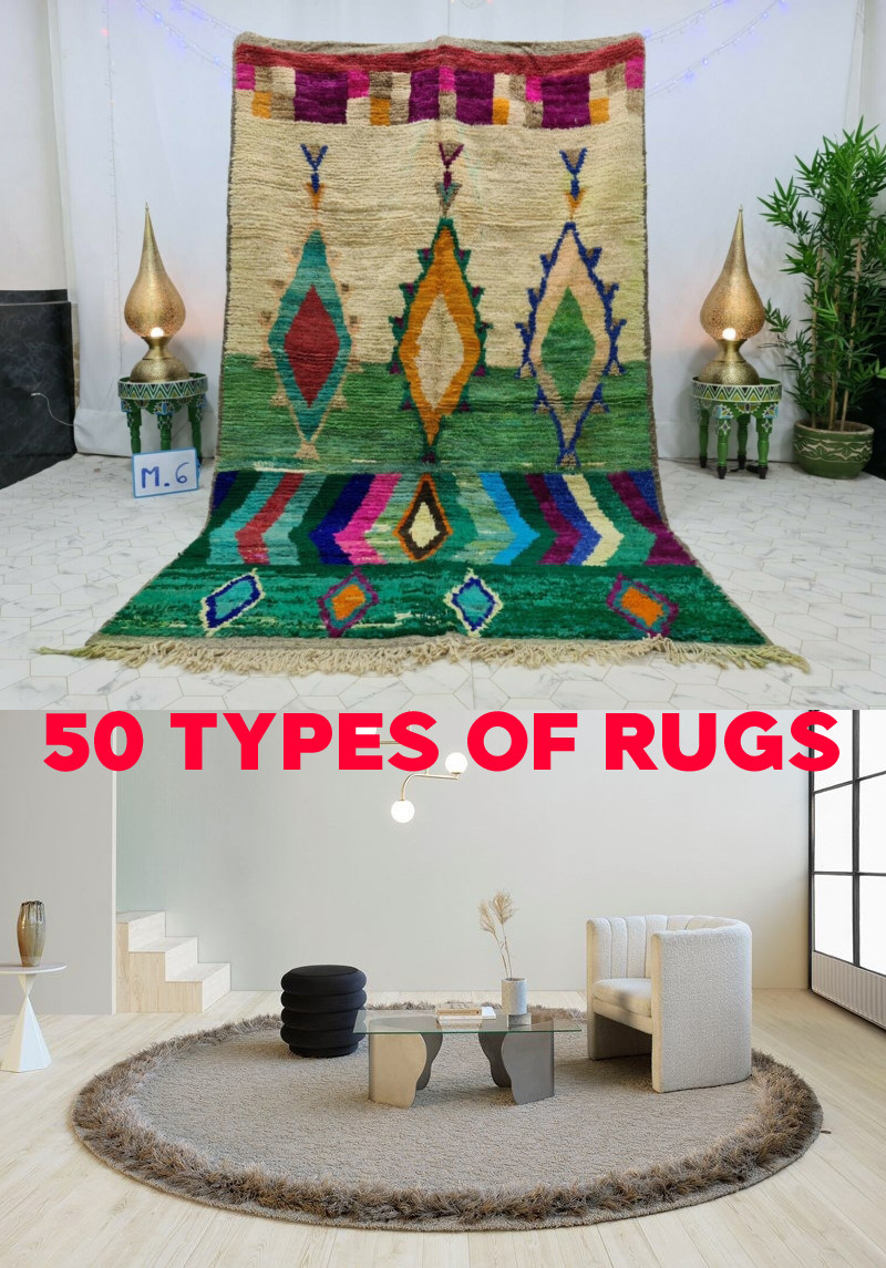 50 Types of Rugs